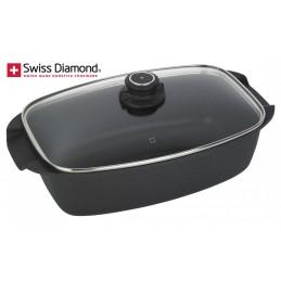 Swiss Diamond Non Stick Roaster with Lid SD 61033D