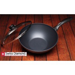 Swiss Diamond Wok 28 cm con Coperchio SD 61128-1D