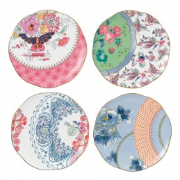 Wedgwood Butterfly Bloom Set 4 Plates 20 cm