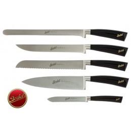 Berkel Elegance Chef Set Knives 5 Pcs Black