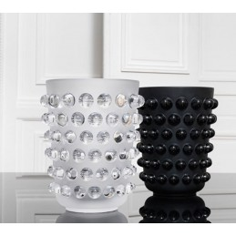 Lalique Mossi Vase Clear Crystal Ref. 1220700