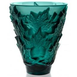 Lalique Vaso Piccolo Champs-Elysee Cristallo Verde Ref. 10598600