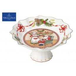 Villeroy & Boch Toy's Fantasy Bowl on foot-Santa is at home 24 cm