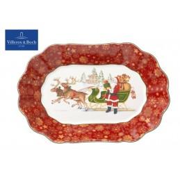 Villeroy & Boch Toy's Fantasy Bowl oval big-Santa's sledge 29x19 cm
