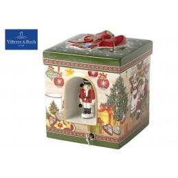 Villeroy & Boch Christmas Toys Pacchetto reg. quadr. Casa Babbo Natale