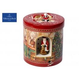 Villeroy & Boch Christmas Toys Pacchetto regalo grande rotondo Stalla