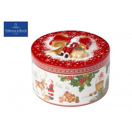 Villeroy & Boch Christmas Toys Pacchetto reg. medio rotondo Renna
