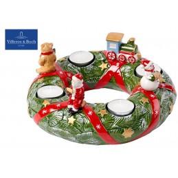 Villeroy & Boch Christmas Toys Memory Advent wreath North Pole Exp.