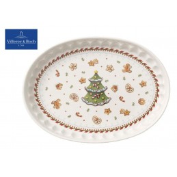 Villeroy & Boch Winter Bakery Delight Piattino ovale Pan pepato