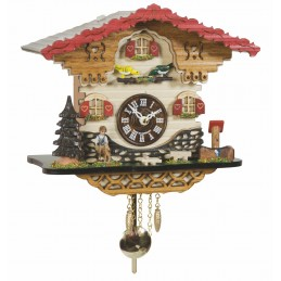 Trenkle Uhren Quartz Cuckoo Clock with music 2058 PQ