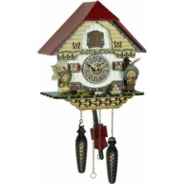 Trenkle Uhren Quartz Cuckoo Clock with music 4256 QM