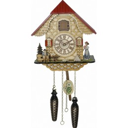 Trenkle Uhren Quartz Cuckoo Clock with music 4242 QM