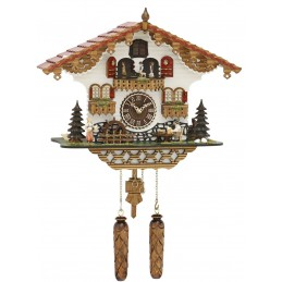Trenkle Uhren Quartz Cuckoo Clock with music 497 QMT HZZG
