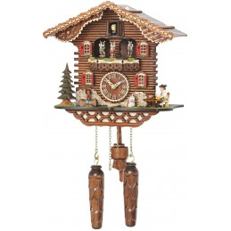 Trenkle Uhren Quartz Cuckoo Clock with music 4209 QMT HZZG