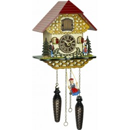 Trenkle Uhren Quartz Cuckoo Clock with music 4261 QMS