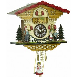 Trenkle Uhren Quartz Cuckoo Clock Kuckulino 2063 SQ