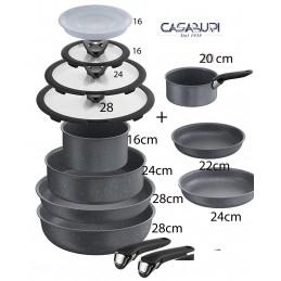 Lagostina Ingenio Cookware Set 14 Pcs