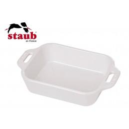 Staub Pirofila Rettangolare Ceramica 14x11 cm Bianco 40511-142-0