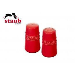 Staub Ceramic Salt and Pepper Shaker Cherry 40511-808-0