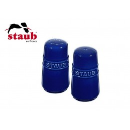Staub Ceramic Salt and Pepper Shaker Dark Blue 40511-809-0