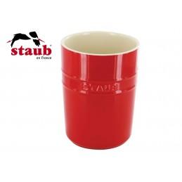 Staub Ceramic Kitchen Utensil Holder 11 cm Cherry 40511-577-0