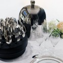 Christofle Ruche AMERICA 38 Piece Silver Plated Set LA RUCHE