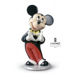 Lladrò Mickey Mouse Statuina 01009079