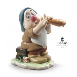 Lladrò Sleepy Snow White Dwarf Figurine 01009326
