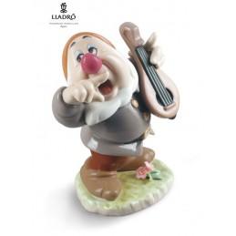 Lladrò Sneezy Snow White Dwarf Figurine 01009327