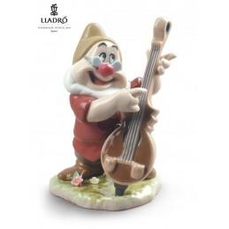 Lladrò Doc Snow White Dwarf Figurine 01009321