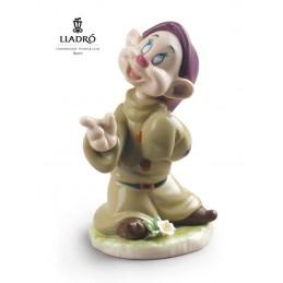Lladrò Dopey Snow White Dwarf Figurine 01009324