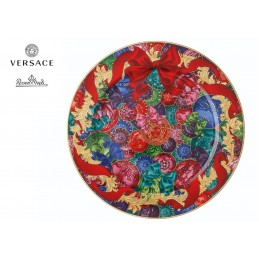 Versace Rosenthal Reflections of Holidays Christmas Plate 30 cm 2018
