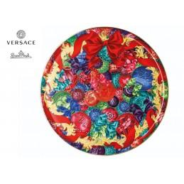 Versace Rosenthal Reflections of Holidays Tart Platter 33 cm