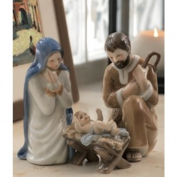Royal Copenhagen Figurine Nativity Set 3 Pcs
