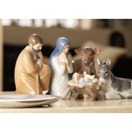 Royal Copenhagen Figurine Nativity Set 5 Pcs