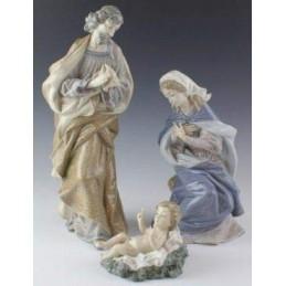Lladrò Nativity Set 3 Pcs Figurine
