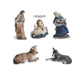 Lladrò Nativity Set 5 Pcs Figurine