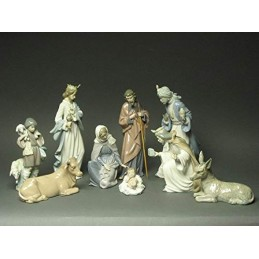 Lladrò Presepe Set 8 Pezzi Statuine