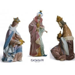 Lladrò Three Kings 3 Pcs Nativity Figurine