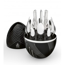 Christofle MOOD KARL LAGERFELD Cutlery Set 24 Pcs 00066399
