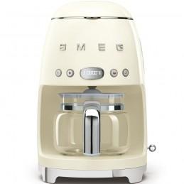Smeg Macchina Caffe Filtro Panna Estetica Anni 50 DCF01CREU