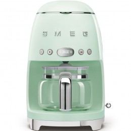 Smeg Macchina Caffe Filtro Verde Estetica Anni 50 DCF01PGEU
