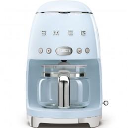 Smeg Macchina Caffe Filtro Azzurro Estetica Anni 50 DCF01PBEU