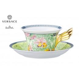 Versace D. V. Floralia Tazza Te - 2 Pz - 25 Anni