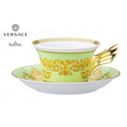 Versace Tea Cup Green Floralia 25th Anniversary