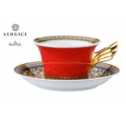 Versace Tea Cup Medusa Red 25th Anniversary