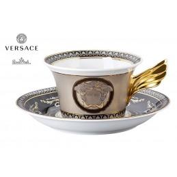 Versace Medusa Silver Tazza Te - 2 Pz - 25 Anni