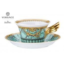 Versace Tea Cup Scala Palazzo Verde 25th Anniversary
