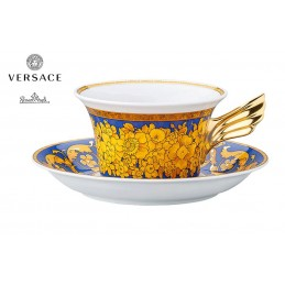 Versace Tea Cup Floralia Blue 25th Anniversary