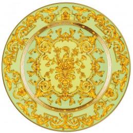 Versace Dinner Plate 22 cm Green Floralia 25th Anniversary